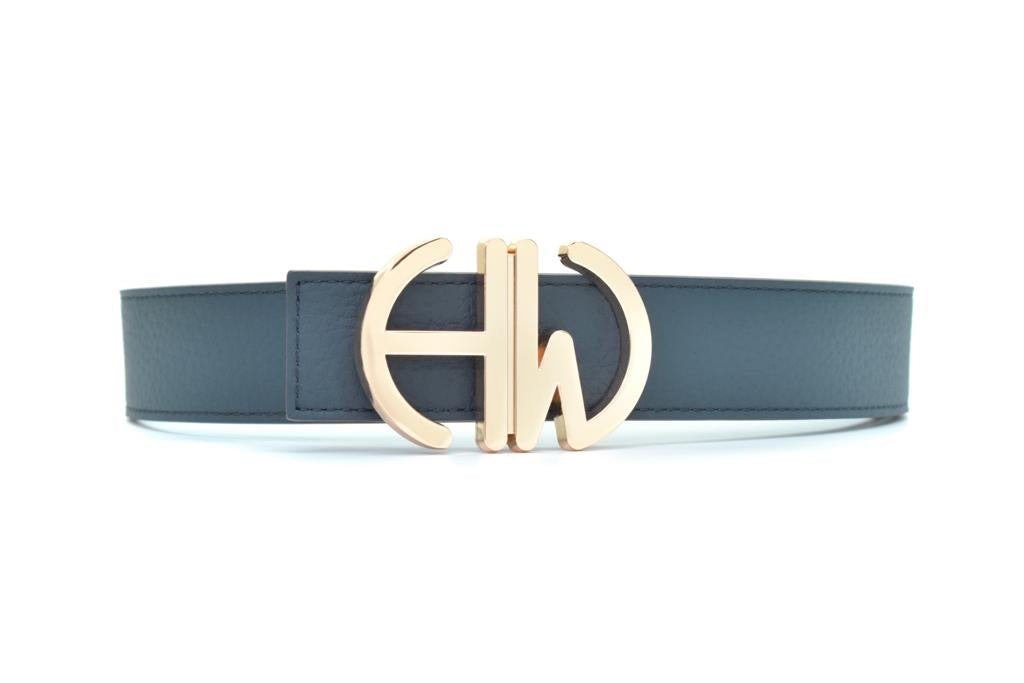 Diana-Colbalt blue-double sided belt