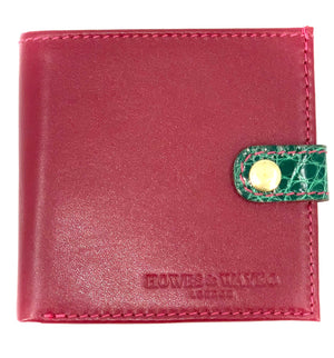 EOS - Cranberry with green clasp
