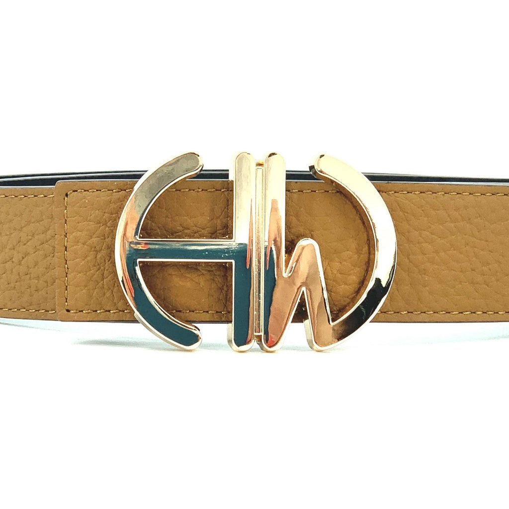 Diana-Tan-double sided belt