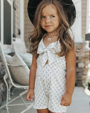 Sarah Jane Diamond Romper