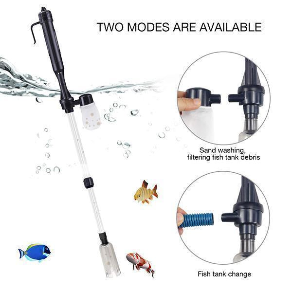 Electric Aquarium Gravel Cleaner( Second half price )