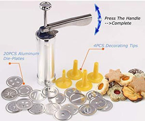 20-in-1 Perfect Cookie Press Set