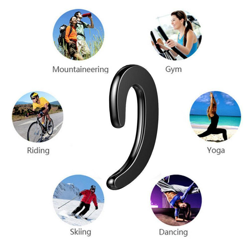 🔥Buy one get one free today🔥K8 Bone Conduction Earhook Wireless Bluetooth Earphone