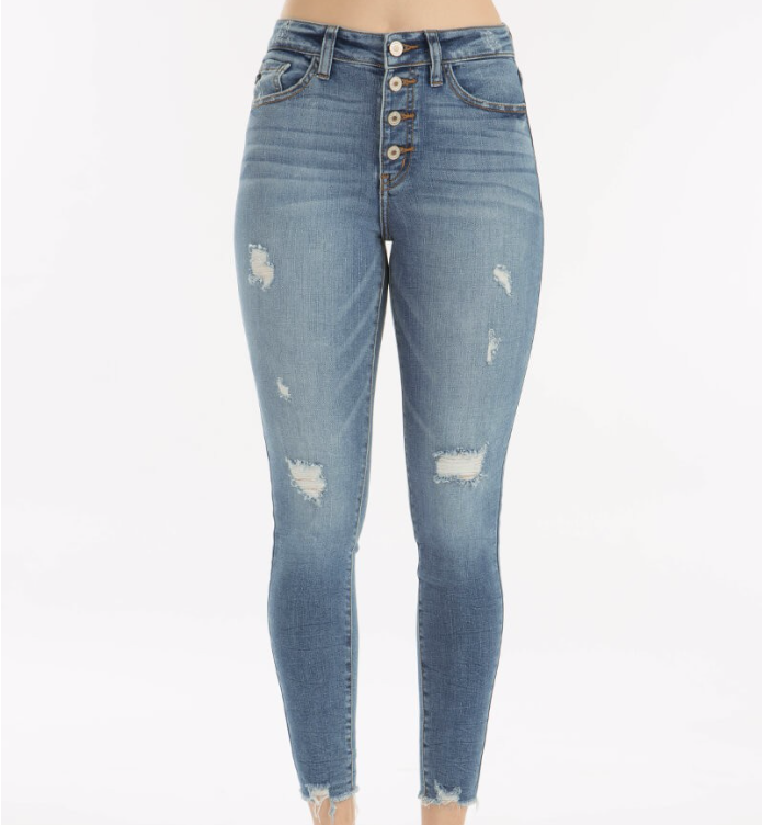 """Emma"" High Rise R&B Skinny Jeans"