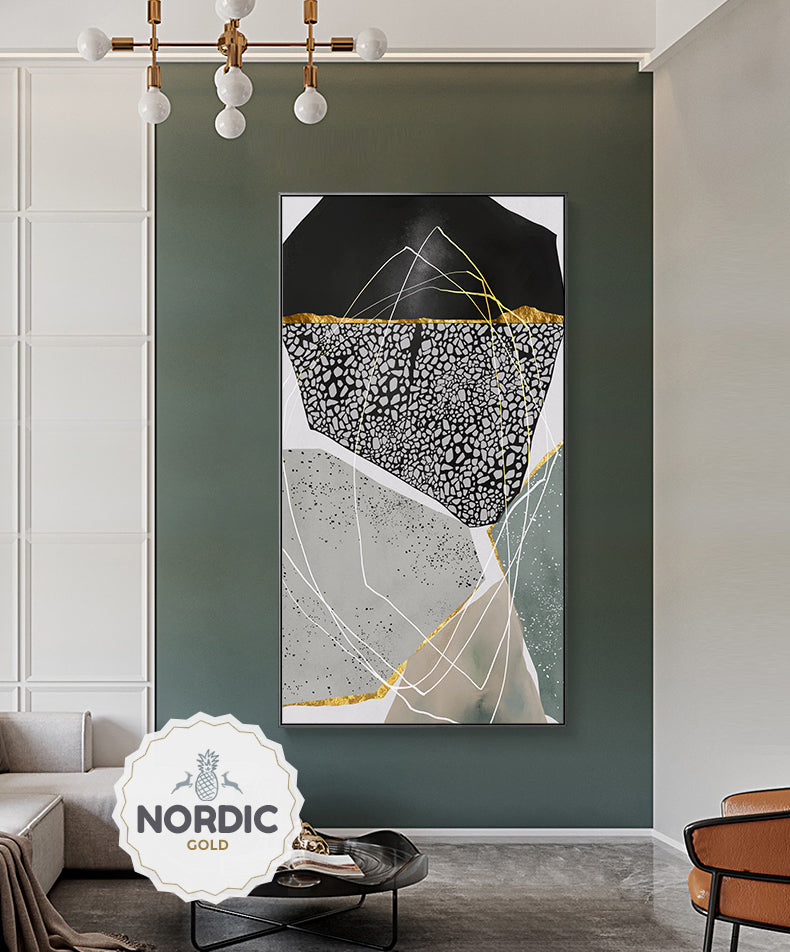 Abstract Geomorphic Pebbles Contemporary Wall Art Agate Marble Design Fine Art Canvas Prints Modern Pictures For Office Living Room Stylish Home Decor 1.jpg