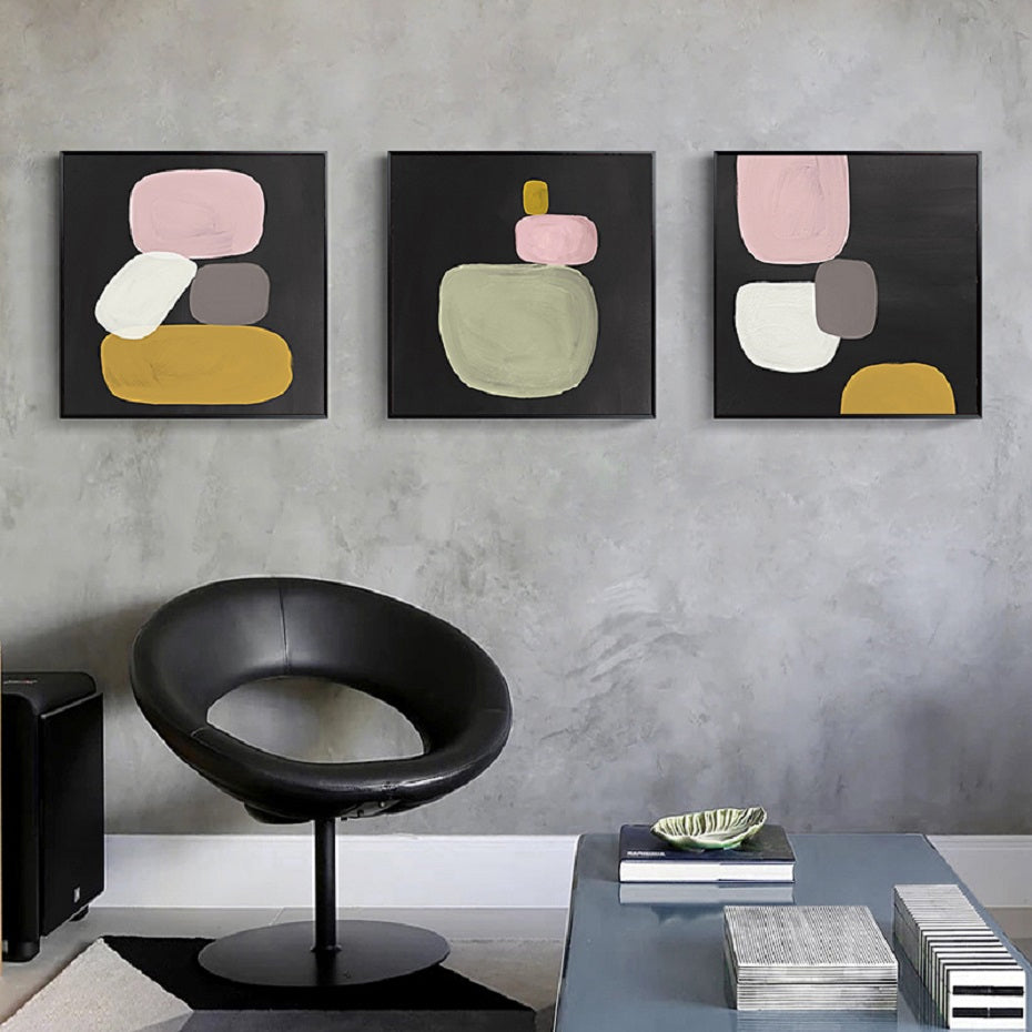 Abstract Minimalist Still Life Canvas Wall Art Prints Nordic Style  Contemporary Art Paintings For Modern Living Room Office Interior Decor