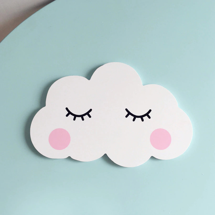 Cute Clouds Decorative Wall Stickers For Baby Bedroom Nursery Room Wall Art Stickers Cute Rabbit Moon And Clouds Nordic Style Kids Room Decor
