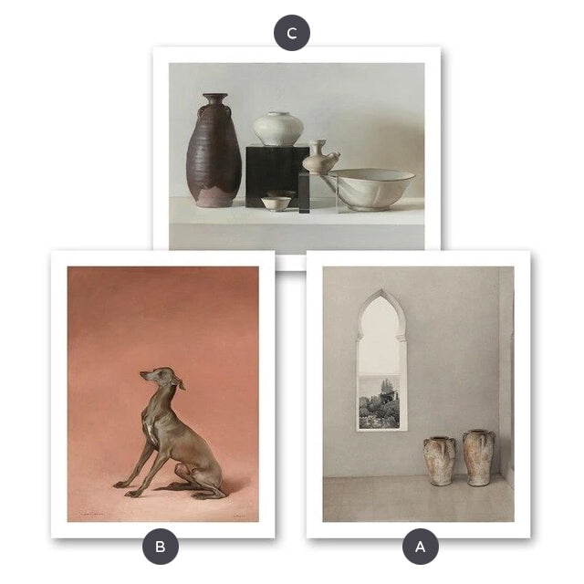 Delightful Classic Vintage Still Life Fine Art Canvas Poster Prints Nordic Style Wall Art Paintings For Living Room Dining Room Modern Home Decor