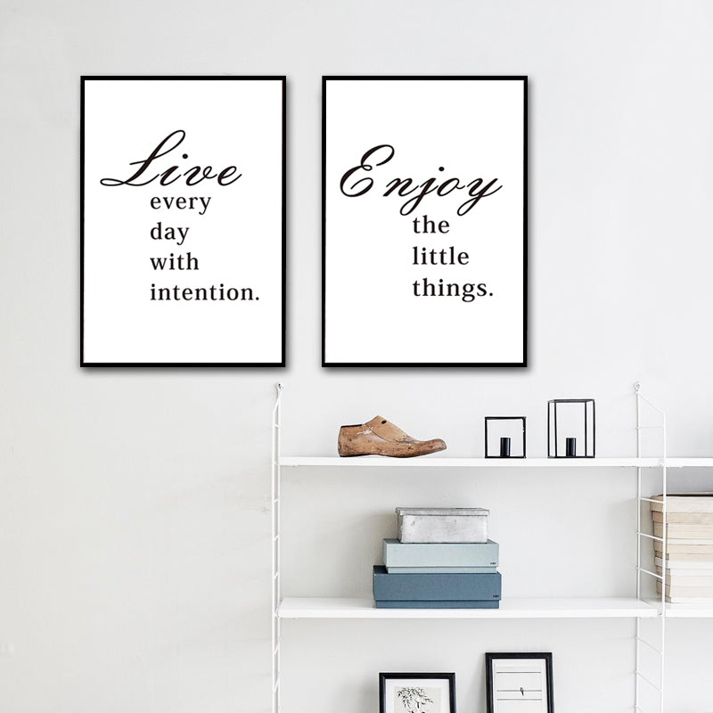 Inspirational Quotes For Life Posters Minimalist Modern Home Decor Wall Art Canvas Prints Paintings For Living Room Decor