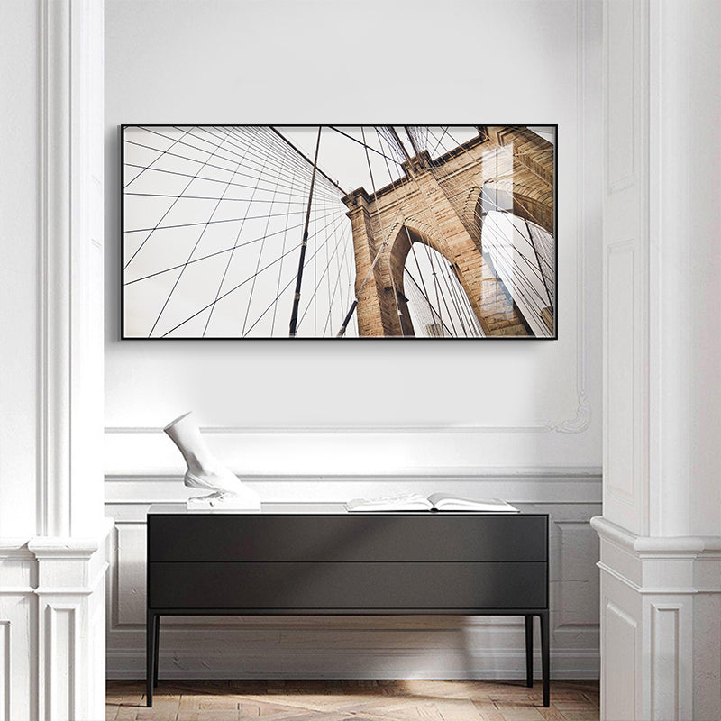 Modern Abstract Architectural Wall Art Fine Art Canvas Prints Minimalist Design Pictures For Loft Living Room Apartment Decor Home & Office Interiors