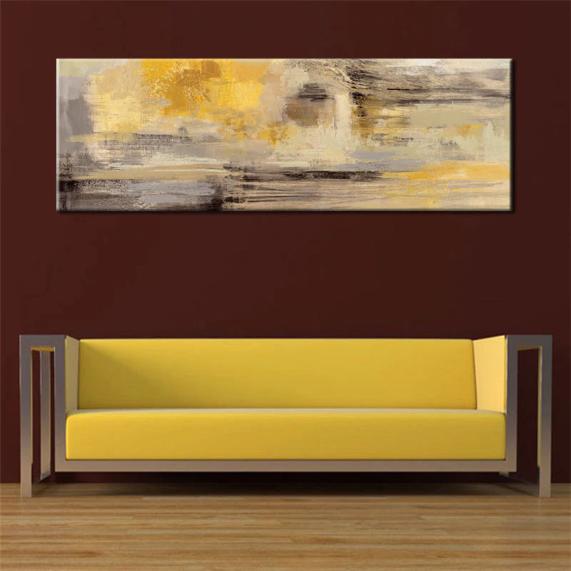 Modern Abstract Paintings Wide Landscape Format Canvas Fine Art Prints Wall Art For Bedroom Living Room Dining Room Art For Modern Home Decor
