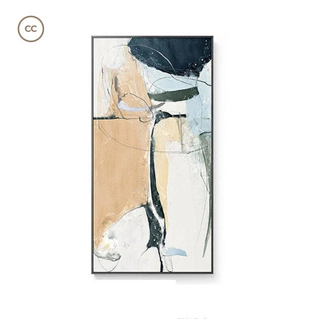 Modern Nordic Abstract Elements Vertical Format Wall Art Fine Art Canvas Prints Wide Format Pictures For Entrance Hallway Living Room Home Office Decor
