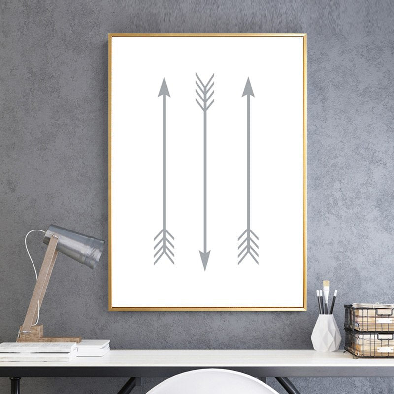 Modern Geometric Arrows Design Minimalist Nordic Prints Wall Art Canvas Paintings Pictures For Kids Room Modern Home Decor