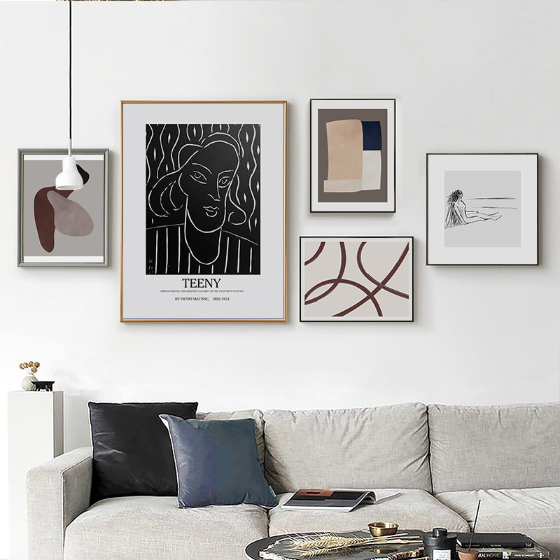 Matisse Collection Famous Abstract Wall Art Posters Minimalist Canvas  Prints Warm Earthy Hues Modern Pictures For Living Room Home Decor