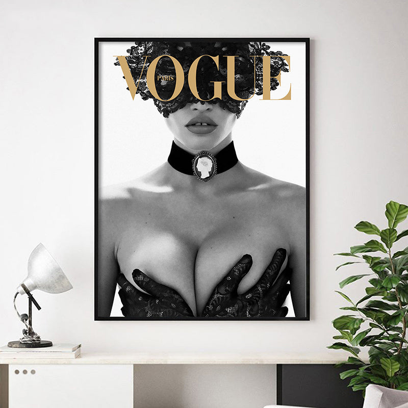 Sexy Paris Fashion Posters Wall Art Modern Beauty Fine Art Canvas Prints Stylish Pictures For Beauty Salon Fashion Boutique Bedroom Glam Home Decor