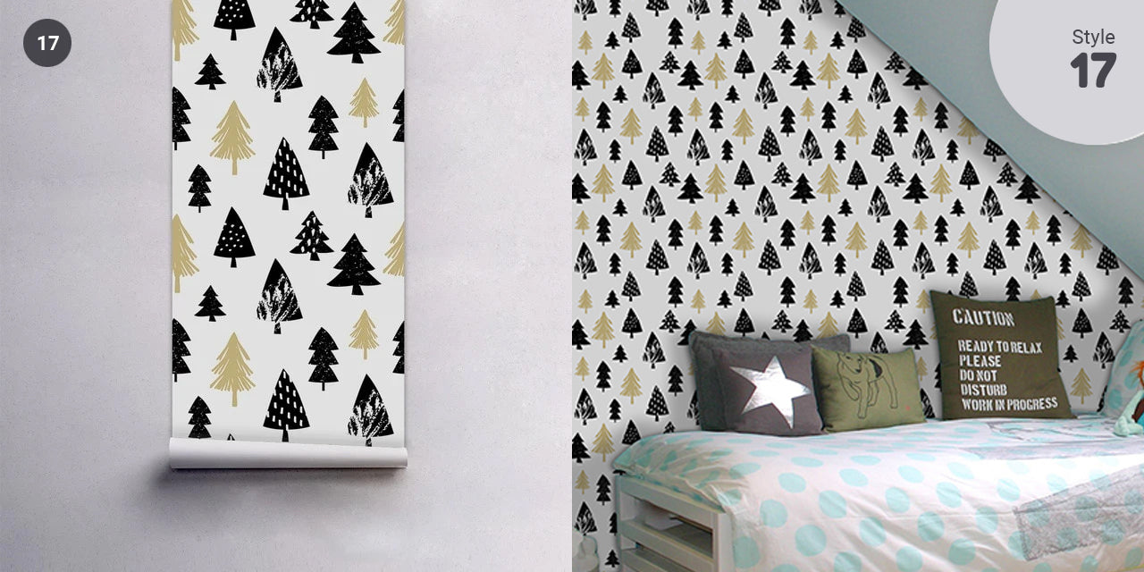 Self Adhesive PVC Wallpaper Wall Mural Vinyl Wall Covering For Walls Furniture Surfaces Creative DIY For Nordic Style Living Room Bedroom Bathroom Decor