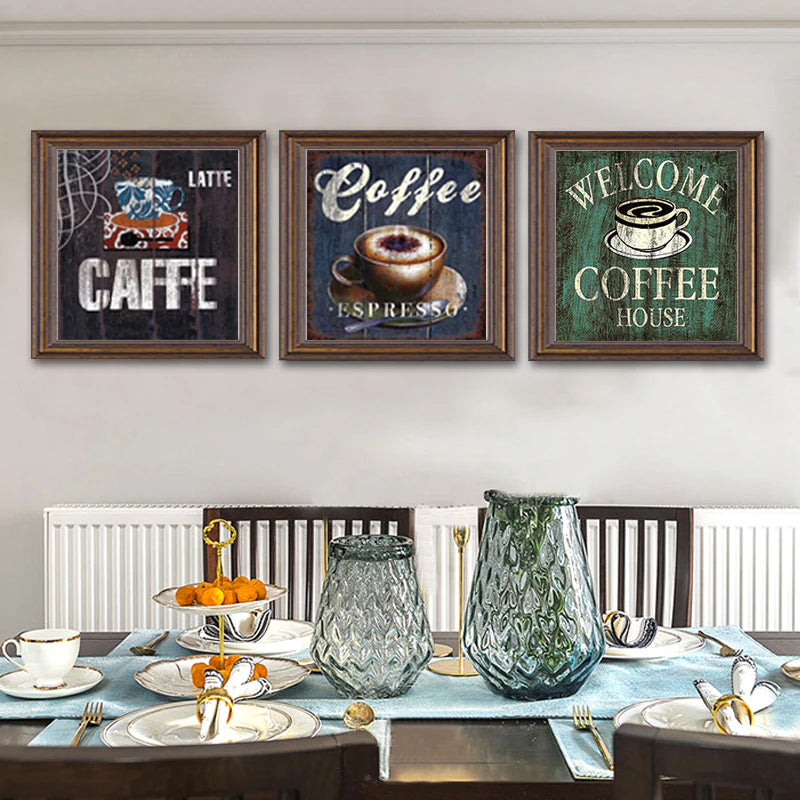 Vintage Coffee Posters For Bar Cafe Restaurant Shop Wall Art NordicWallArt