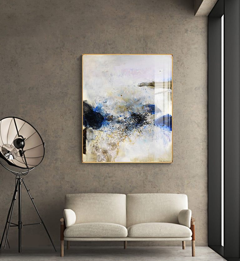 Vintage Contemporary Abstract Wall Art Fine Art Canvas Prints Modern Pictures For Bedroom Living Room Office Interior Modern Home Decor