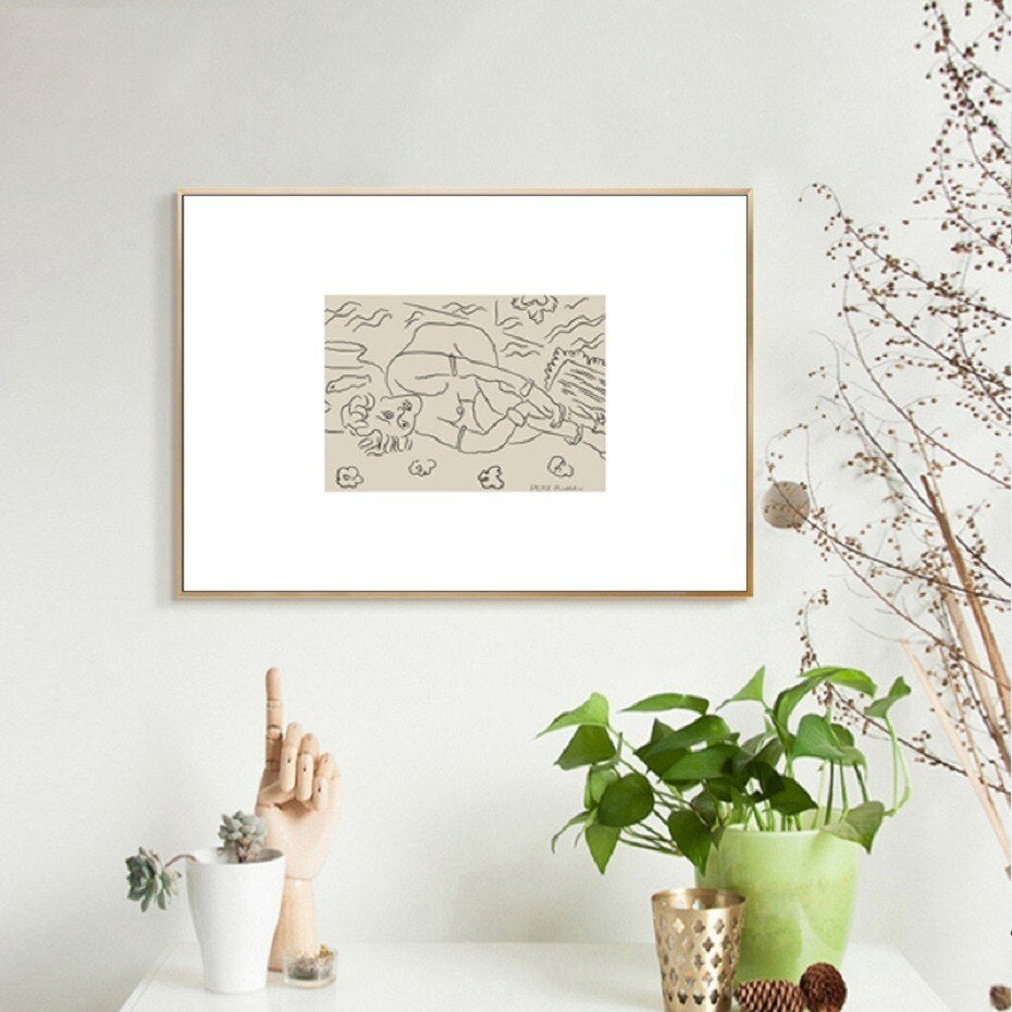 Vintage European Abstract Roman Renaissance Gallery Wall Art Sculpture And Sketch Fine Art Canvas Giclee Prints For Modern Home Interior Decor