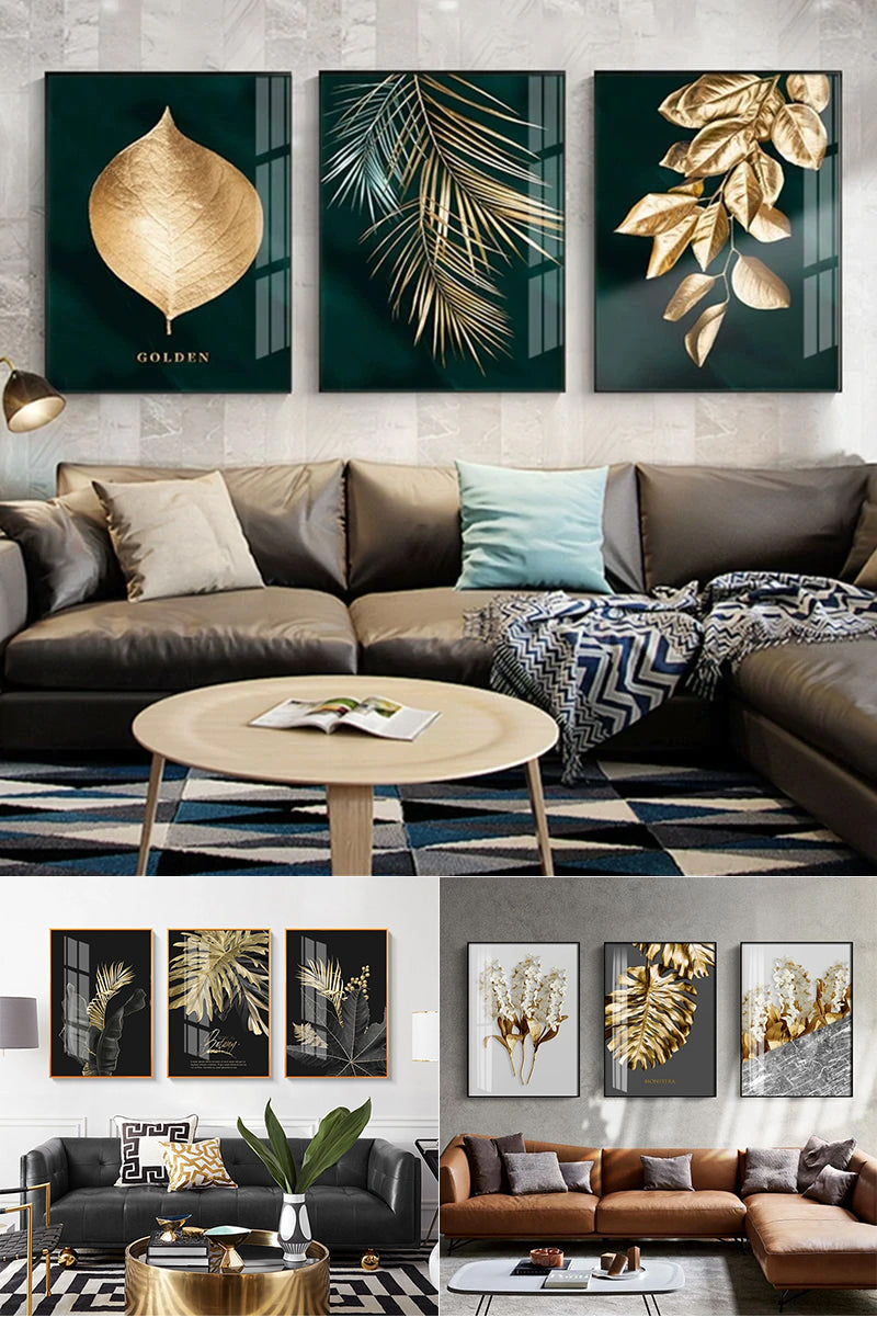With rich color palettes, exotic themes and abstract biomorphic designs, the NORDIC GOLD collection takes inspiration from nature and the environment..