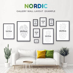 Nordic Wall Art Gallery Wall Example
