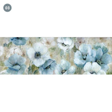 Load image into Gallery viewer, Contemporary Floral Wide Format Wall Art Oil Painting Modern Colorful Abstract Fine Art Canvas Prints Living Room Bedroom Home Decor