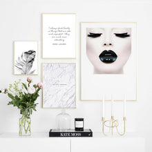 Load image into Gallery viewer, Find Beauty In Things That Are Odd Inspirational Quotes Fashion Gallery Wall Art Fine Art Canvas Prints Nordic Style Salon Art Boutique Home Decor