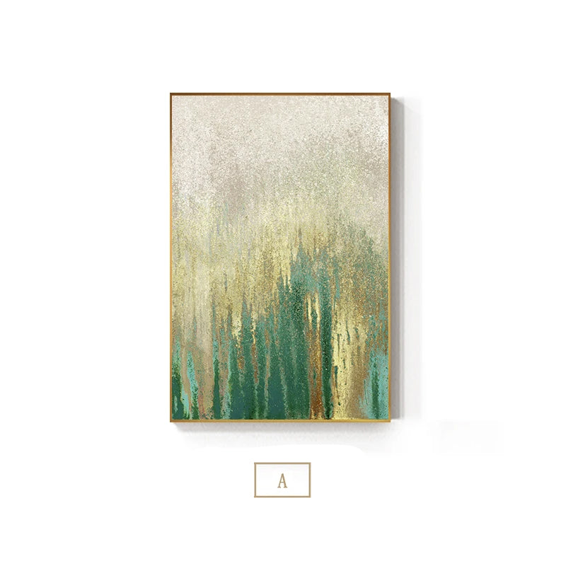 Jaded Rust Vintage Abstract Wall Art Fine Art Canvas Print Modern Pictures For Luxury Living Room Designer Bedroom Decor Contemporary Office Interiors
