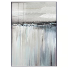 Load image into Gallery viewer, Minimalist Abstract Landscape Wall Art Shades Of Gray Reflection Fine Art Canvas Prints Nordic Style Pictures For Modern Home Interior Decoration