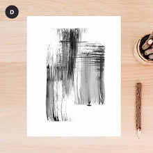 Load image into Gallery viewer, Minimalist Black & White Urban Abstract Wall Art Simple Nordic Style Modern Pictures Fine Art Canvas Prints For Living Room Bedroom Home Office Decor
