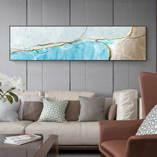 Load image into Gallery viewer, Modern Abstract Elements Geomorphic Wall Art Fine Art Canvas Prints Wide Format Nordic Style Pictures For Bedroom Living Room Contemporary Home Styling