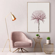 Load image into Gallery viewer, Modern Minimalist Pink Peony Floral Wall Art Fine Art Canvas Prints Nordic Pictures For Contemporary Living Room Chic Bedroom Home Decor
