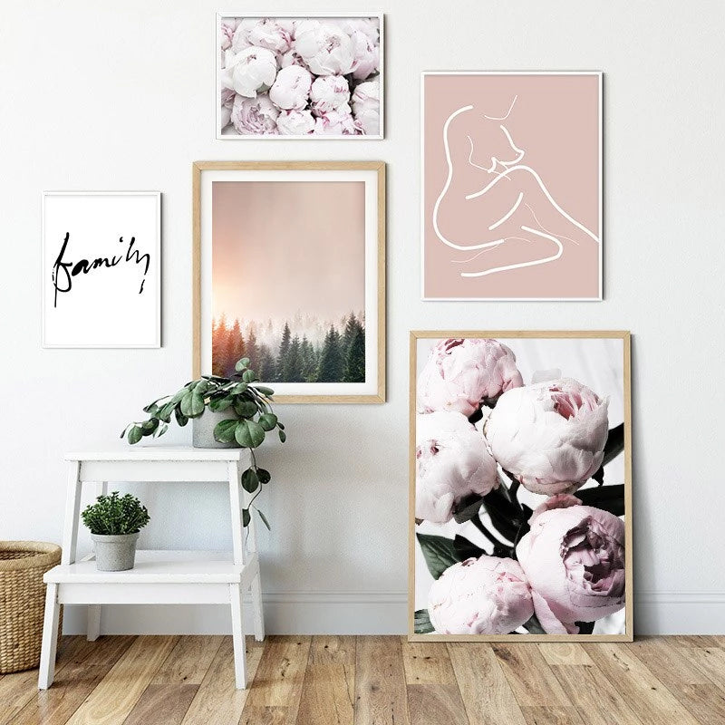 Check these Amazing Pink Peonies Bedroom Galleries ...