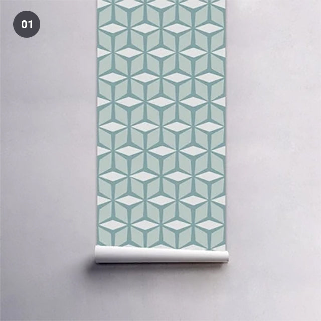 Self Adhesive PVC Wallpaper Wall Mural Vinyl Wall Covering Decal For Walls Furniture Surfaces Creative DIY For Nordic Living Room Bedroom Bathroom Decor