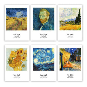 Van Gogh Famous Paintings Classic Artists Series Fine Art Canvas Prints With Artists Own Quotes Quintessential Art For Modern Home Decoration