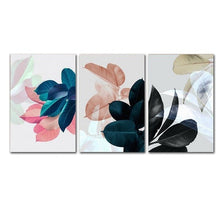 Load image into Gallery viewer, Abstract Colored Leaves Wall Art House Plants Botany Posters Fine Art Canvas Prints For Living Room Dining Room Nordic Style Wall Decor