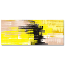 Load image into Gallery viewer, Modern Abstract Wide Format Wall Art Contemporary Fine Art Canvas Prints Subtle Color Pictures For Bedroom Living Room Home Interior Decor