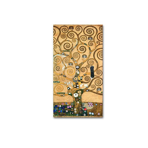 Famous Artists Wall Art Gustav Klimt Trees Paintings Fine Art Canvas Prints Classic Pictures For Modern Living Room Home Interior Decoration