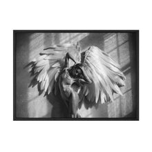 Load image into Gallery viewer, Heavenly Girl With Angels Wings Black & White Wall Art Fine Art Canvas Prints Modern Scandinavian Style Pictures For Living Room Interior Decor