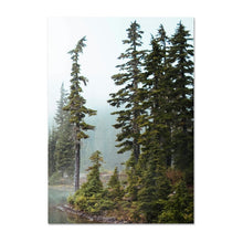 Load image into Gallery viewer, Misty Mountain Lake Wilderness Tranquil Landscape Wall Art Fine Art Canvas Prints Pictures Of Calm For Office Home Living Room Modern Home Decor