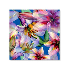 Load image into Gallery viewer, Abstract Floral Watercolor Wall Art Colorful Nordic Style Fine Art Canvas Prints Bright Pictures For Living Room Bedroom Modern Home Wall Decor