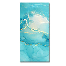 Load image into Gallery viewer, Abstract Marble Vein Wall Art Colorful Fine Art Canvas Prints Nordic Style Contemporary Design Pictures For Living Room Bedroom Wall Decor