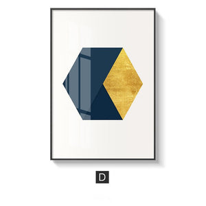 Abstract Geometric Wall Art Fine Art Canvas Prints Warm Subdued Colors Subtle Hues Nordic Style Minimalist Posters For Modern Living Room Home Office Decor