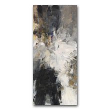 Load image into Gallery viewer, Modern Urban Abstract Wall Art Neutral Colors Cream Beige Brown Black Fine Art Canvas Prints Contemporary Paintings For Modern Loft Interior Decor