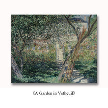 Load image into Gallery viewer, Famous Paintings Claud Monet Olive Tree Wood in the Moreno Garden Fine Art Canvas Print Classic Impressionism Landscape Wall Art Decor