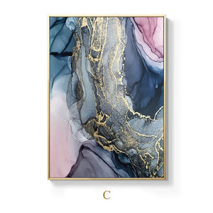 Alien Clouds Abstract Wall Art Colorful Fine Art Canvas Prints Modern Contemporary Nordic Style Marble Effect Pictures For Living Room Bedroom Home DecorAlien Clouds Abstract Wall Art Colorful Fine Art Canvas Prints Modern Contemporary Nordic Style Marble Effect Pictures For Living Room Bedroom Home Decor