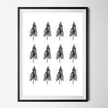 Load image into Gallery viewer, Modern Nordic Art Posters Faith Hope Love Geometric Deer Love Quote Simple Tree Painting Scandinavian Wall Art Home Decor