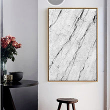 Load image into Gallery viewer, Nordic Grey Marble Abstract Rock Texture Themed Fine Art Prints Canvas Wall Art Posters For Modern Office and Living Room Home Decor