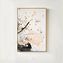 Load image into Gallery viewer, Modern Abstract Art Canvas Paintings Vintage Rustic Color Splash Posters Fine Art Nordic Wall Art Pictures for Office and Living Room Home Decor