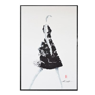 Bilder Drucke Black White Abstract Figure Canvas Painting Wall Art Picture Poster Home Decor Mobel Wohnen Elin Pens Ac Id